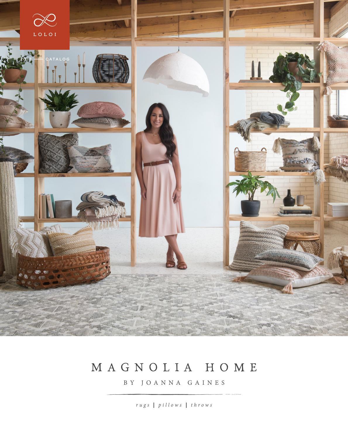 loloi magnolia home catalog 2017 by
