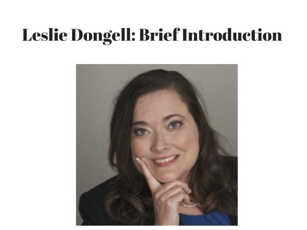Leslie dongell brief introduction by Leslie Dongell - issuu