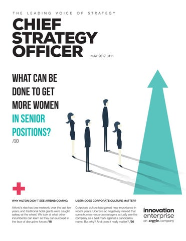 Chief Strategy Officer, Issue 24 by Innovation Enterprise ...