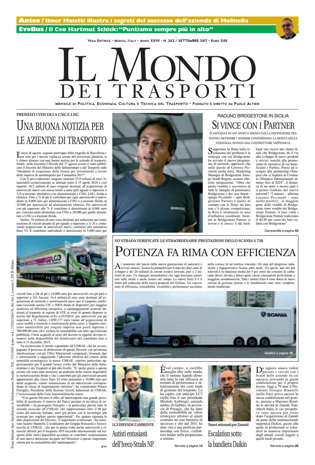 Il Mondo Dei Trasporti Settembre 2017 By Vega Editrice Issuu