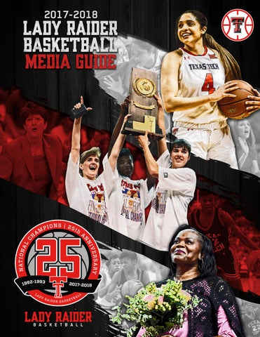 2017 18 wbb media guide by TexasTech - Issuu