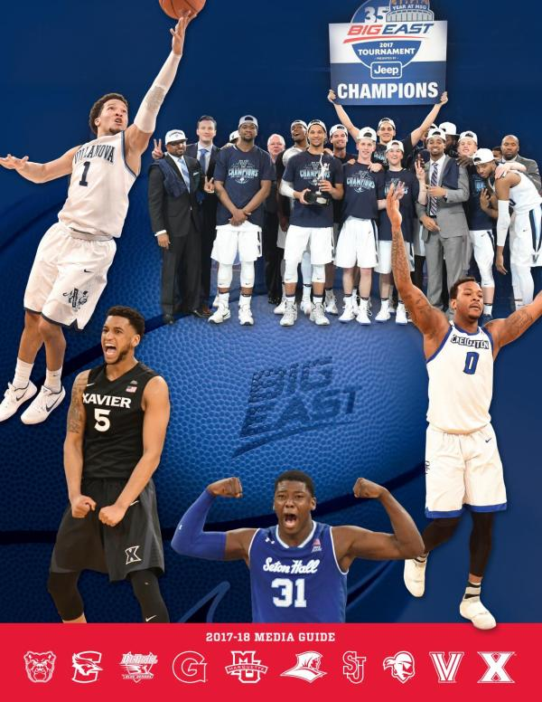 2017-18 BIG EAST Men's Basketball Media Guide by BIG EAST ...