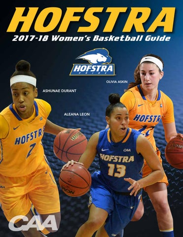 2017-18 Hofstra University Women's Basketball Guide by ...