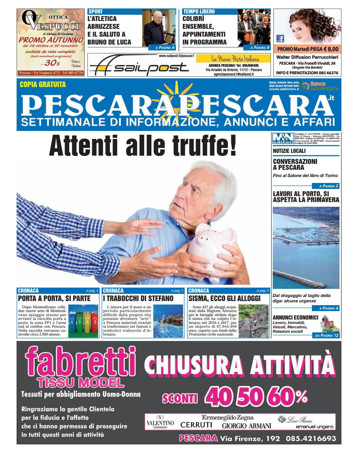 Pescarapescara N 43 Del 8 11 2017 By Pescarapescara Issuu