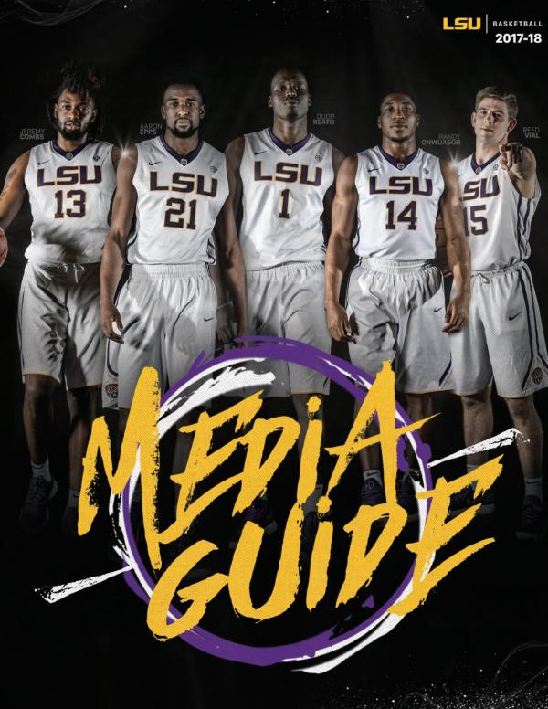 2017-18 LSU Men's Basketball Media Guide by LSU Athletics ...