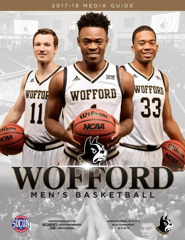2017-18 Wofford Men's Basketball Media Guide by Wofford ...