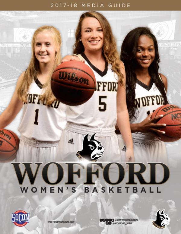 2017-18 Wofford Women's Basketball Media Guide by Wofford ...