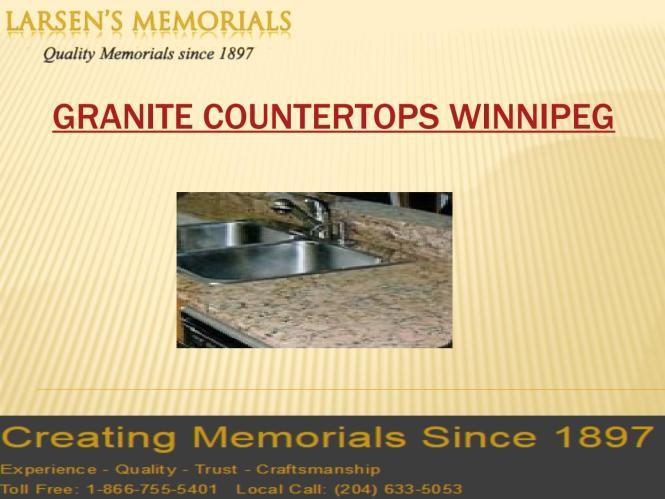 Granite Countertops Winnipeg Ln S