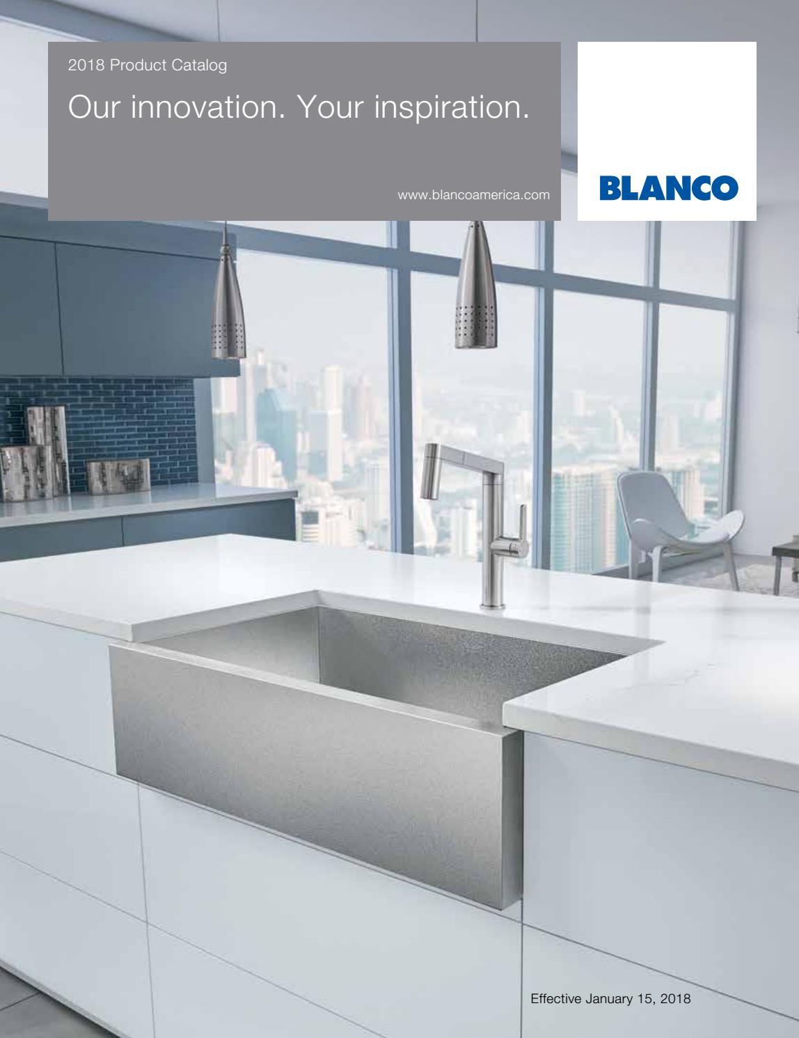 blanco 2018 showroom catalog by blanco