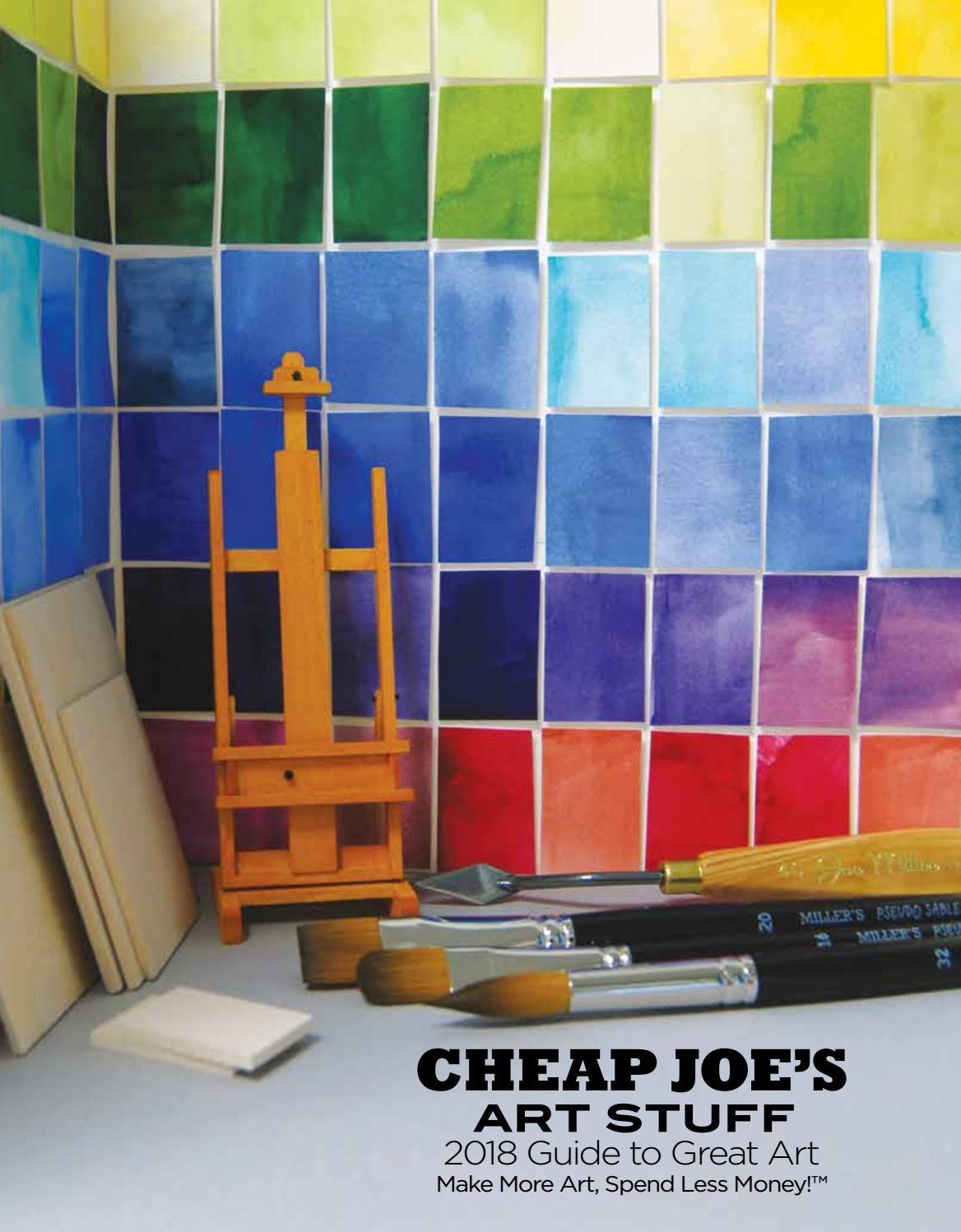 cheap joe's art stuff 2018 guide to great artcheap joe's art