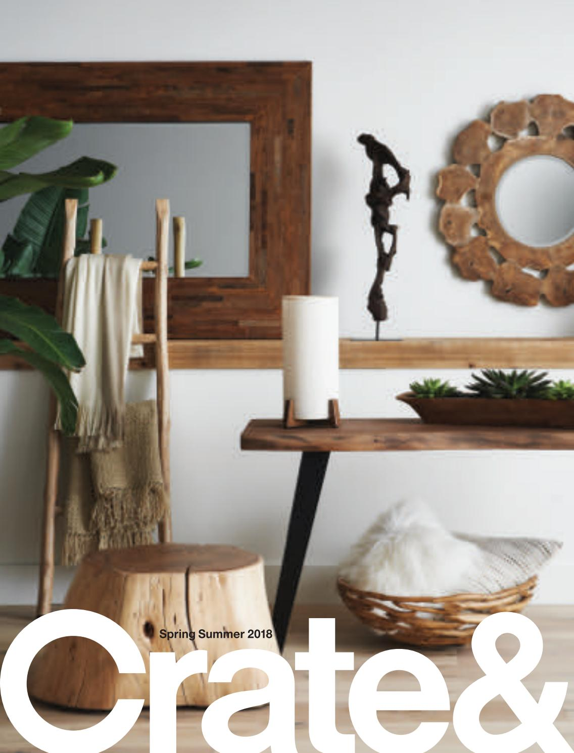 crate and barrel spring summer catalog 2018 by crate and on crate and barrel id=24258