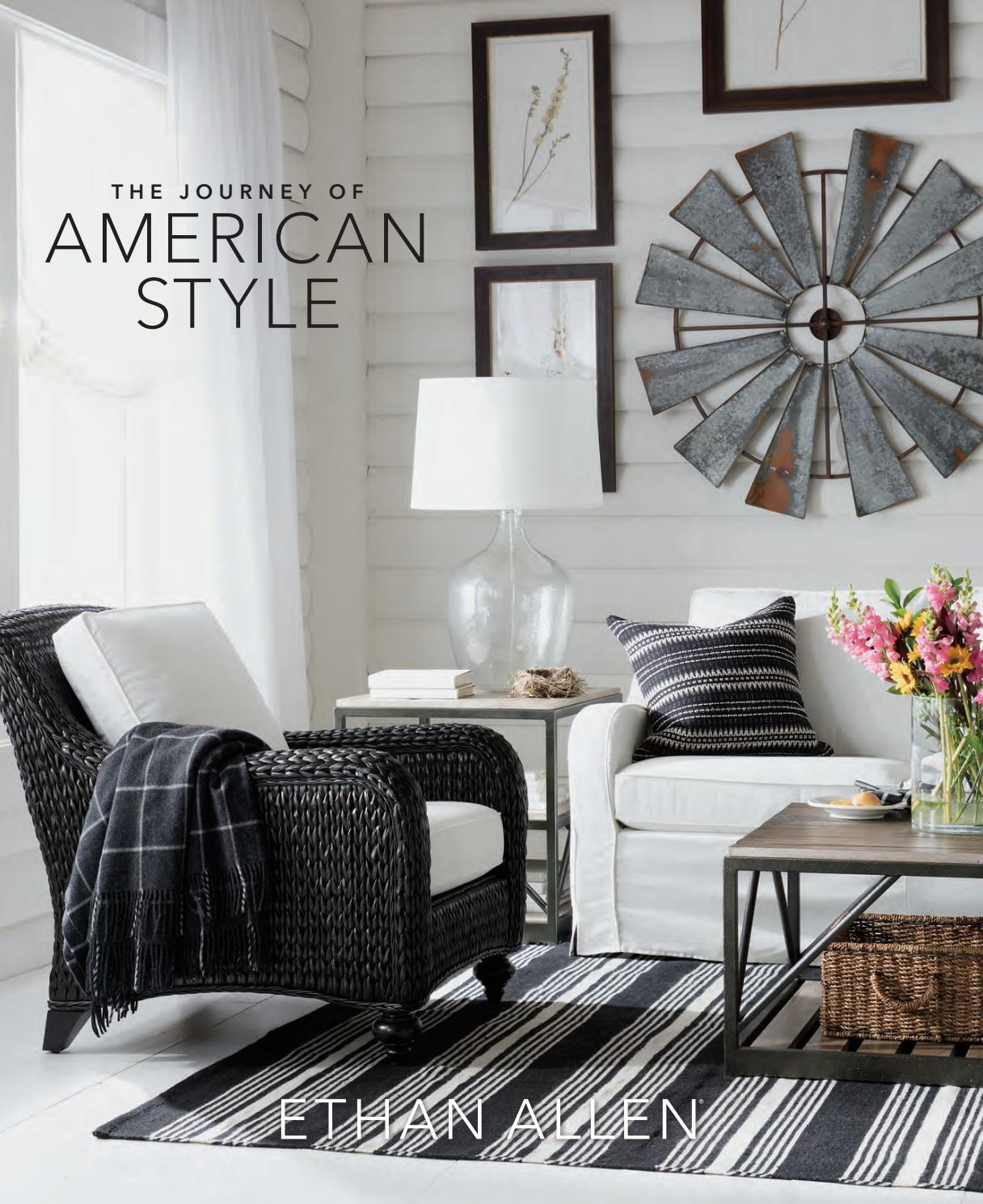 ethan allen 2018 catalog by home design
