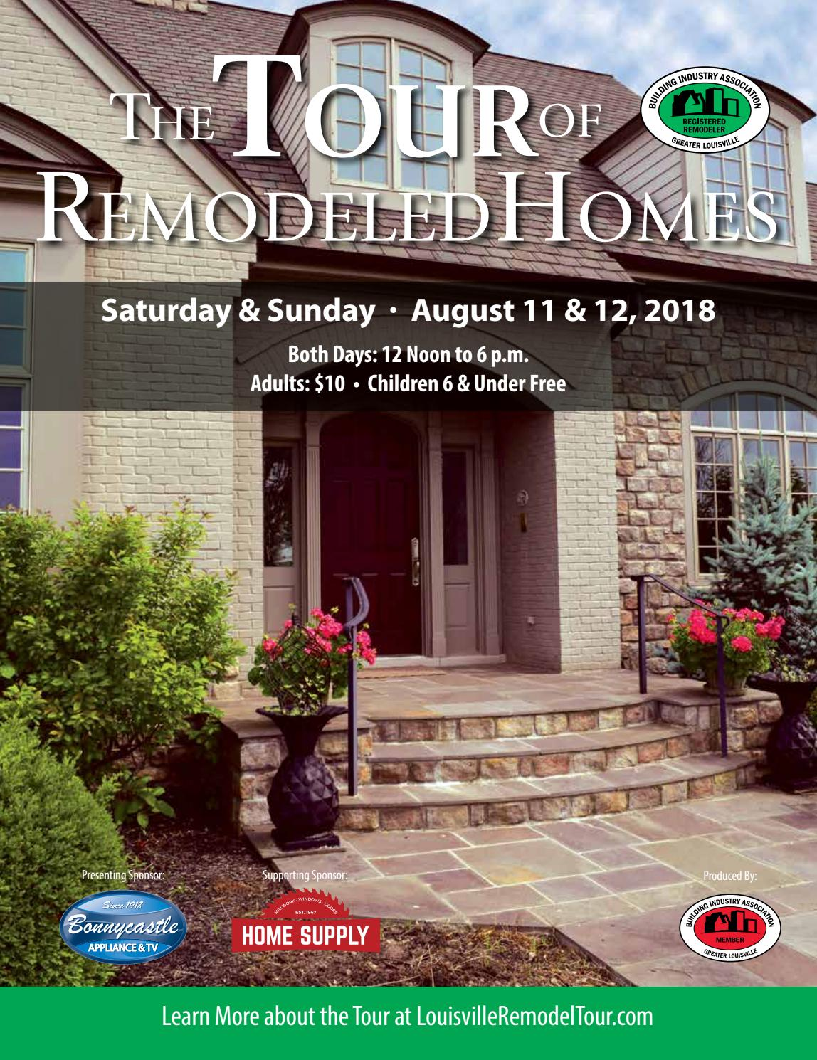 2018 tour of remodeled homes by