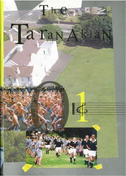 2001 The Taranakian by New Plymouth Boys  High School   issuu