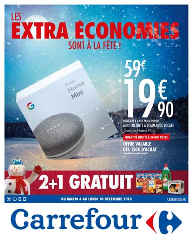 catalogue carrefour du 4 au 10 decembre