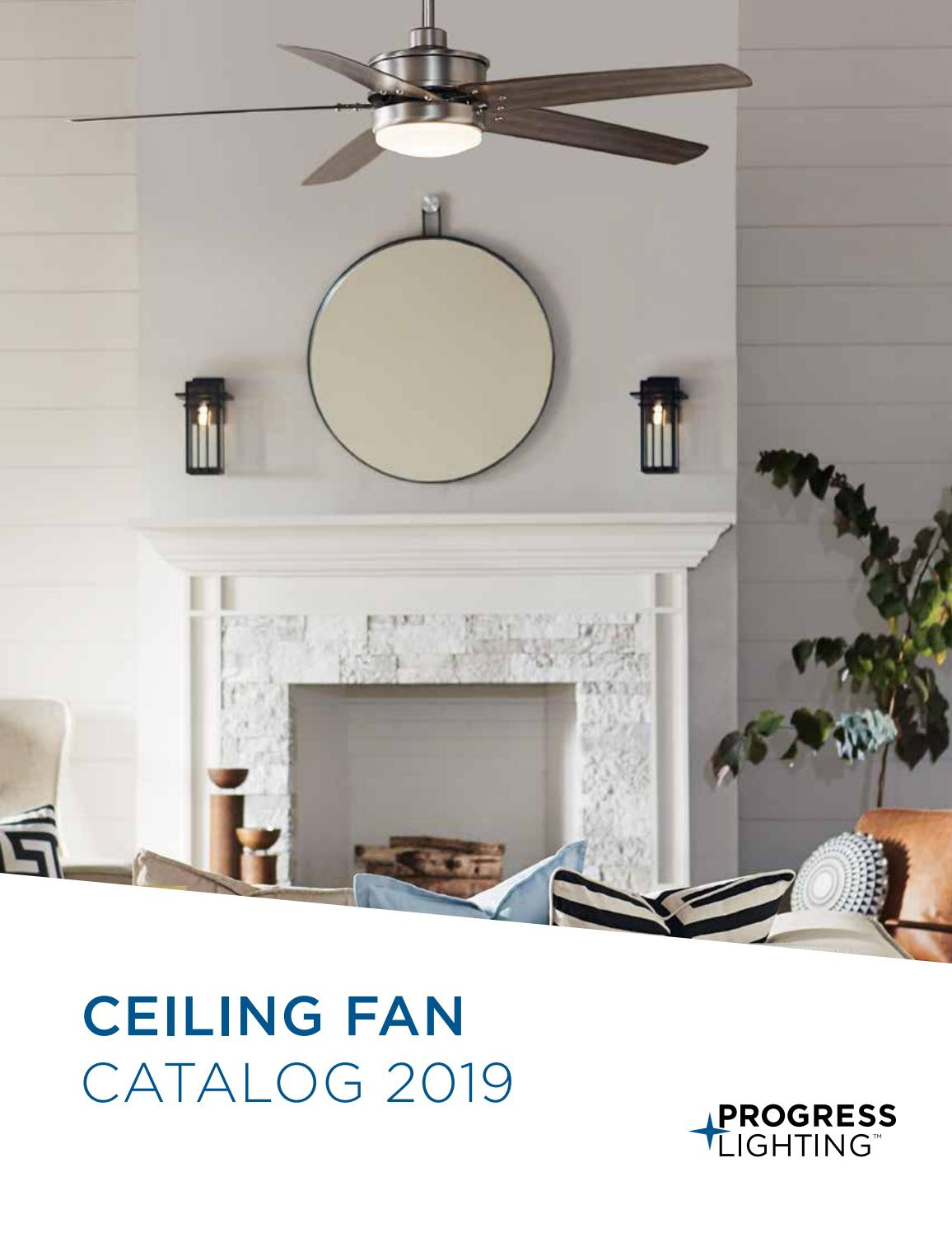 progress lighting 2019 ceiling fan