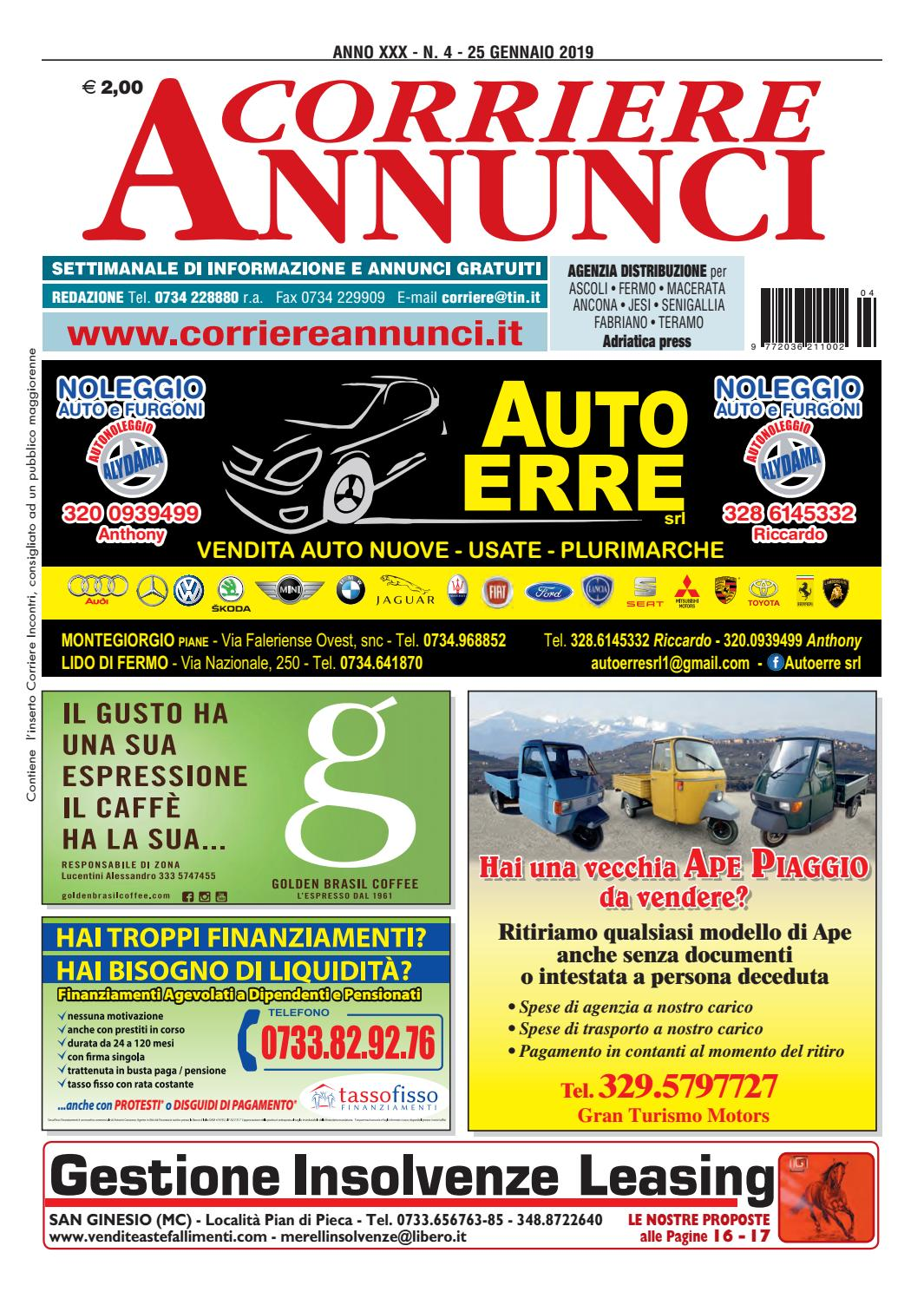 Corriere 4 2019 By Corriere Annunci Issuu