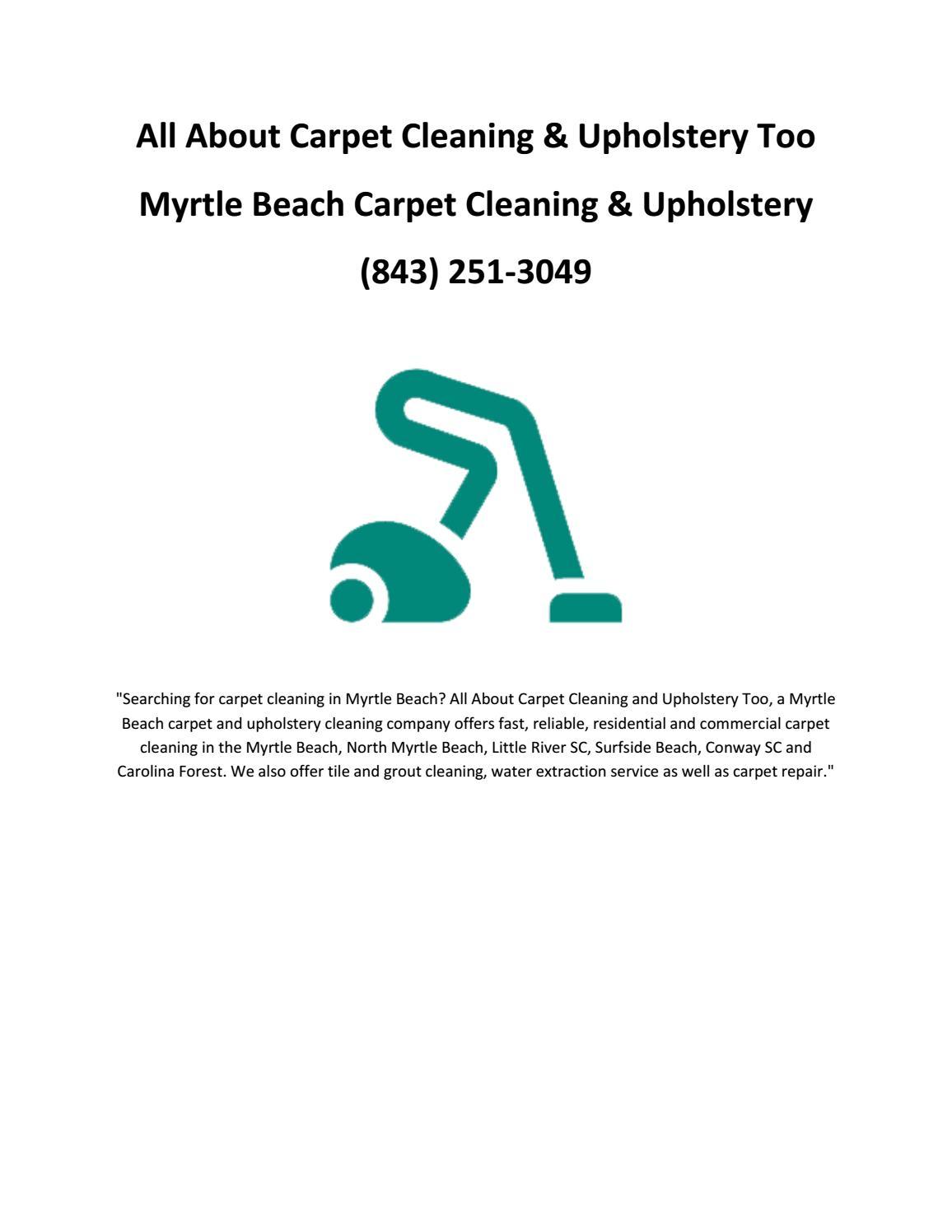 carpet cleaning myrtle beach myrtle