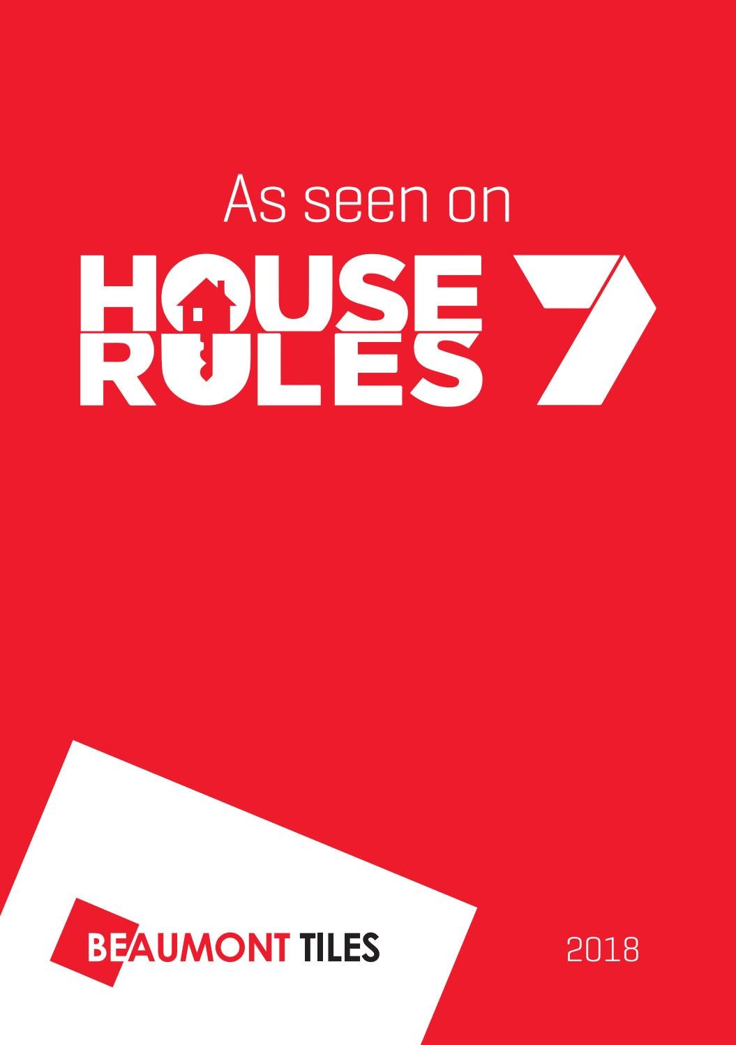 house rules 2018 by beaumont tiles