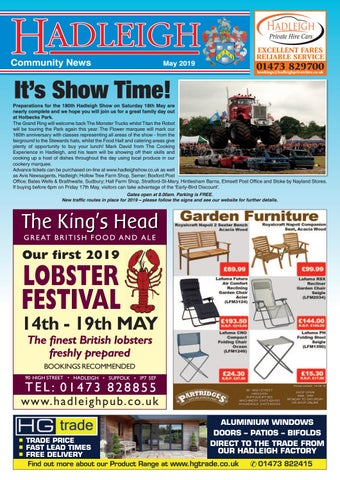 hadleigh community news may 2019 by
