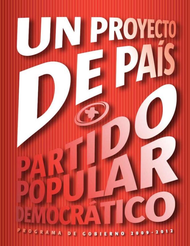 2008 PPD Programa de gobierno by La Colección Puertorriqueña - issuu