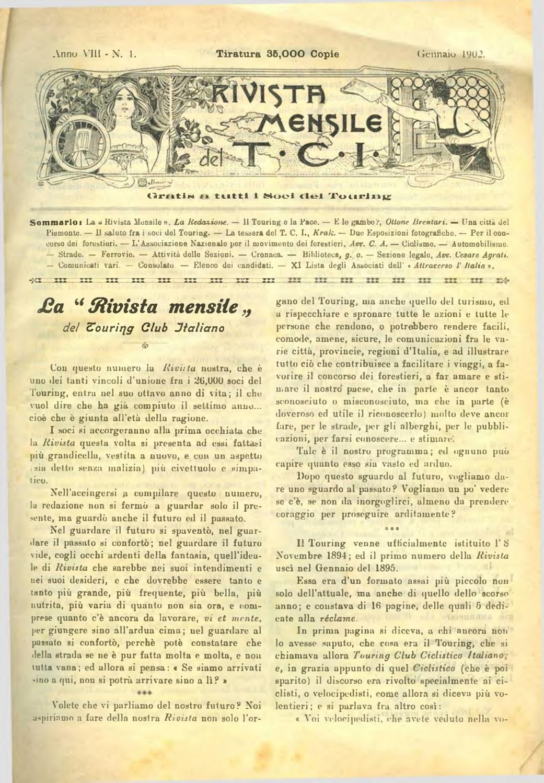 Svizzero maxmeyer fonda a milano, con sede in via savona, il. Touring Club Italiano Gennaio 1902 By Touring Digital Issuu