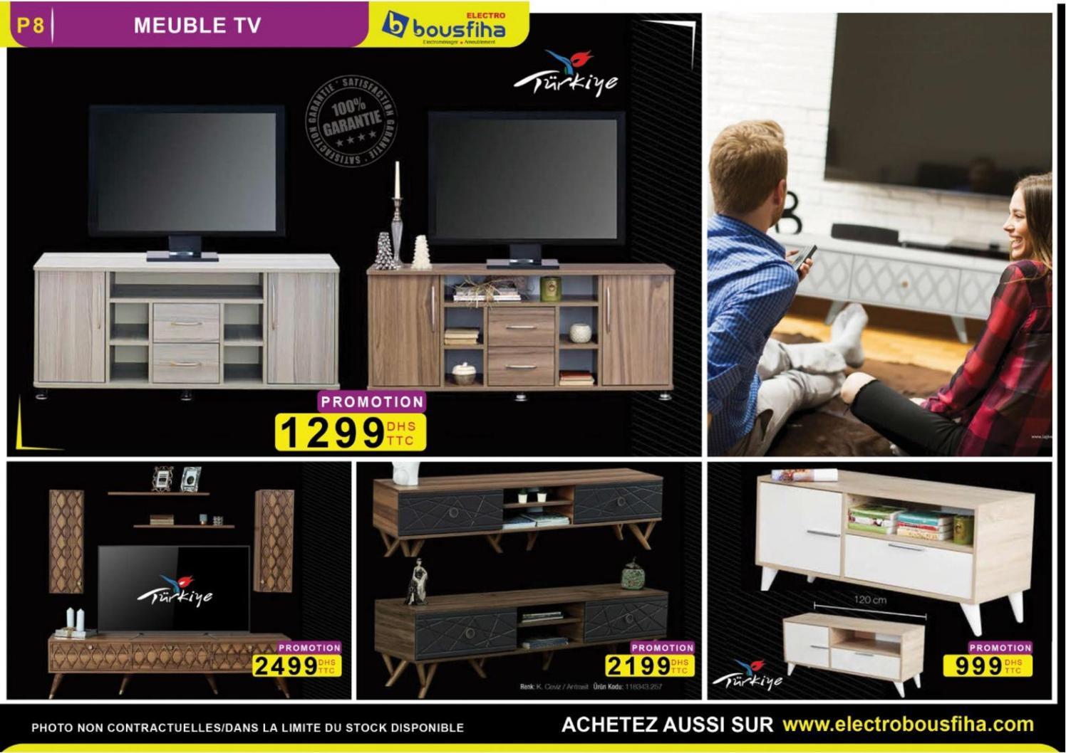 promotion turkiye meuble tv
