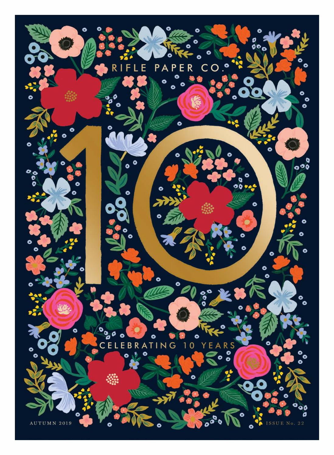 Rifle Paper Co Fall Holiday 2019 By Daniel Richards Issuu