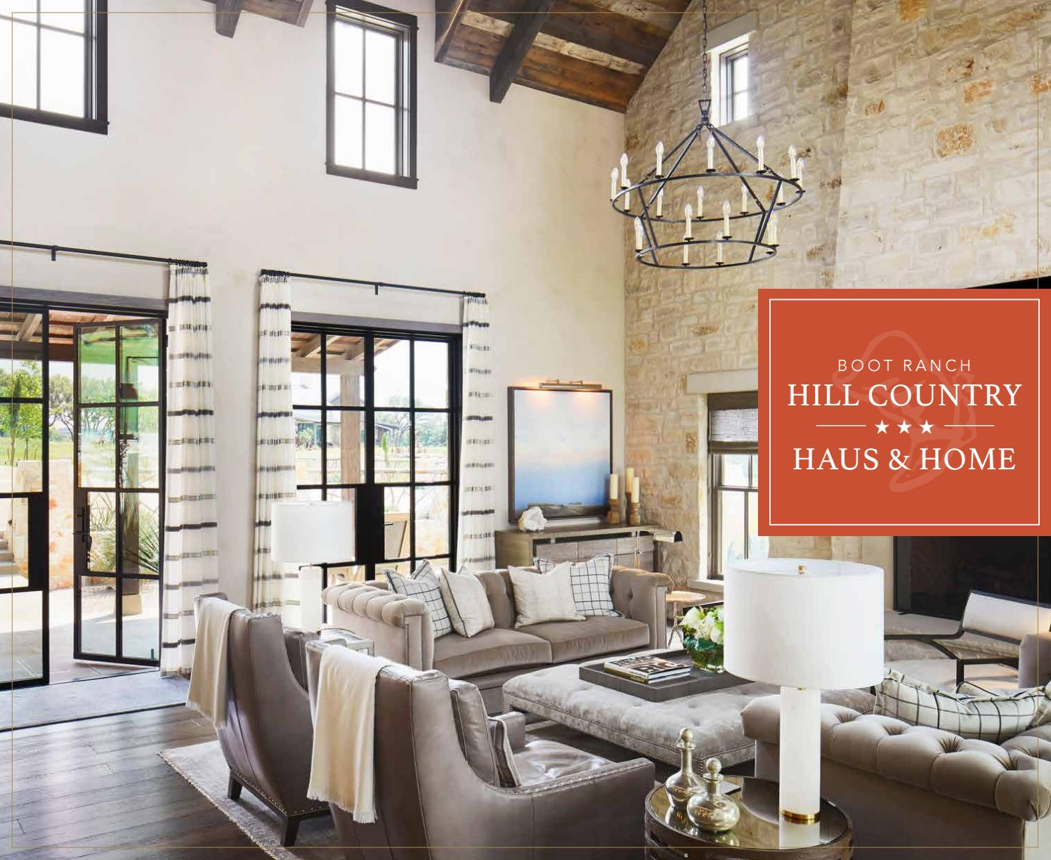 Hill Country Haus & Home by Boot Ranch - Issuu on Hhh Outdoor Living  id=32059