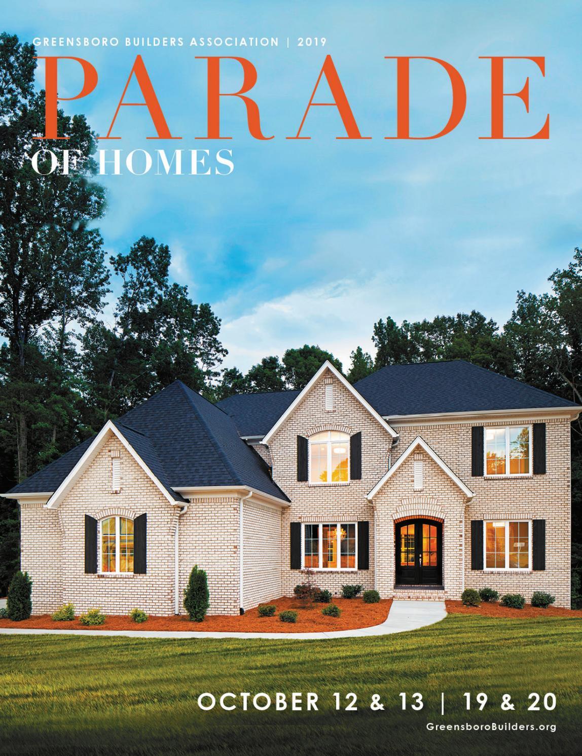 2019 fall parade of homes by greensboro