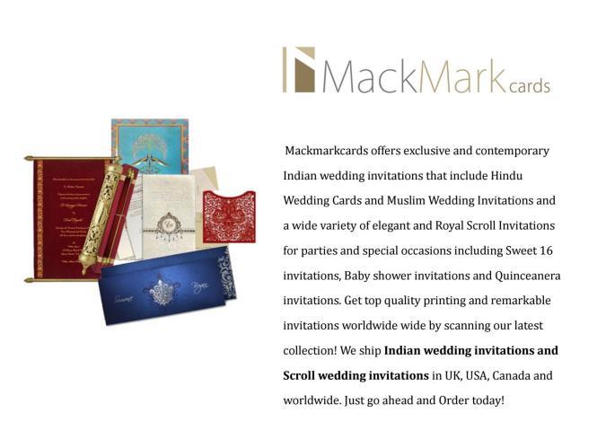 Mackmarkcards Indian Wedding Cards
