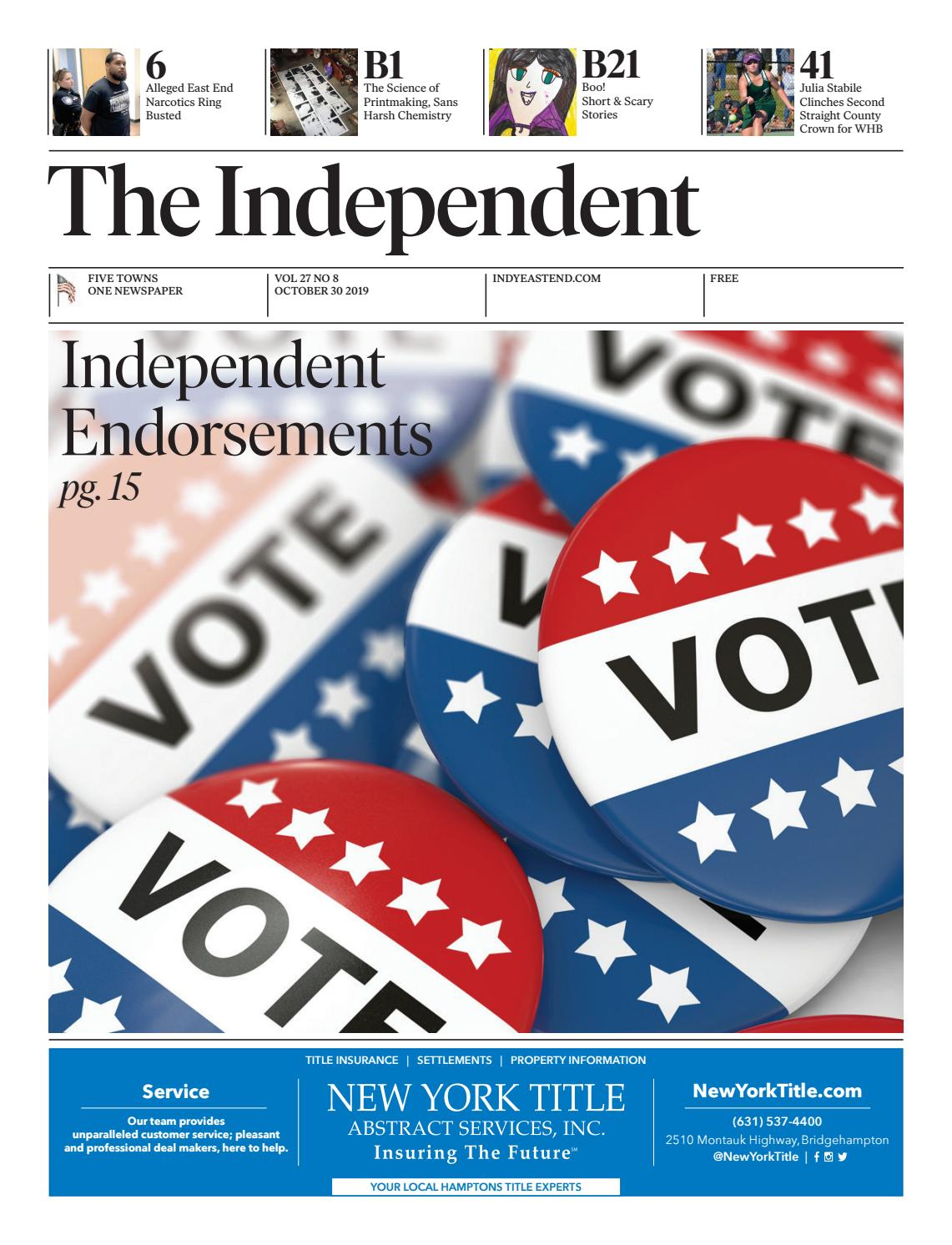 The Independent 103019 by The Independent Newspaper - issuu