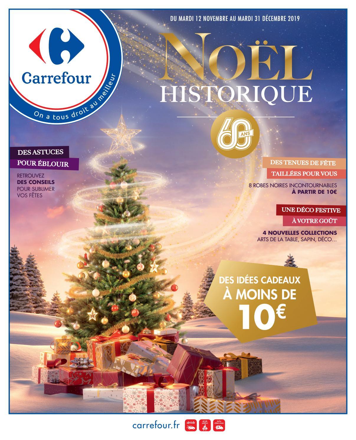 catalogue carrefour noel historique by