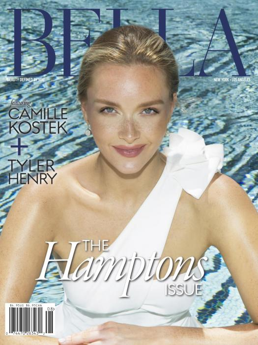 BELLA The July/August Hamptons Issue featuring Camille Kostek by ...