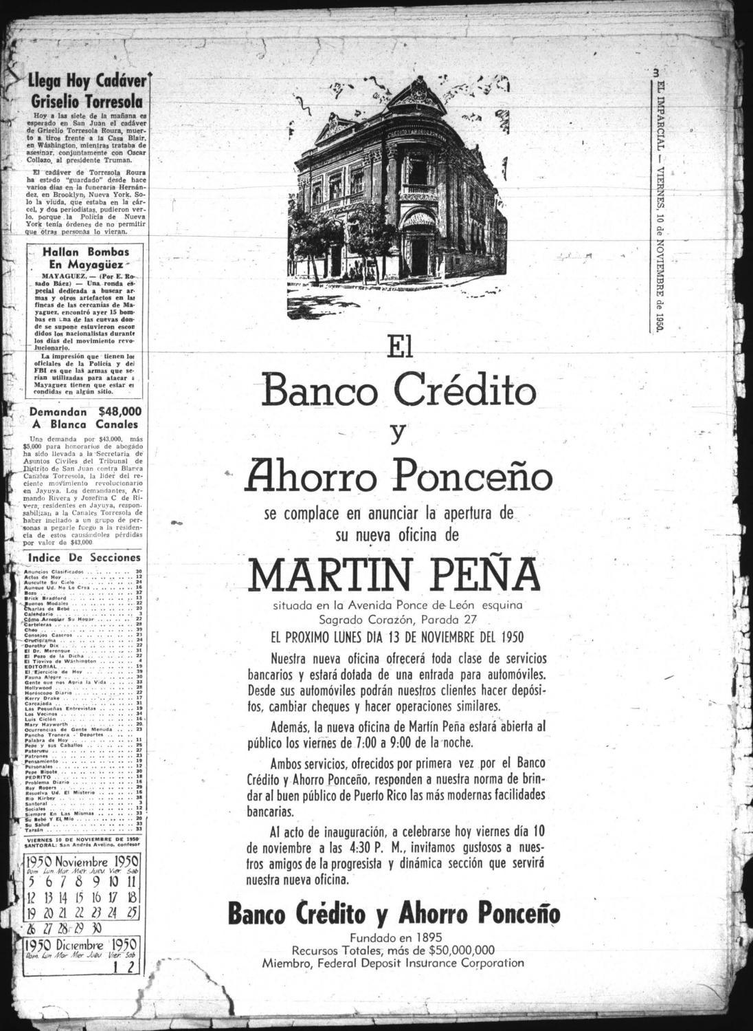 el imparcial 10 nov 1950 by la