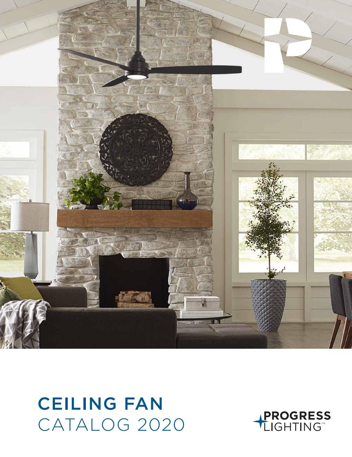 progress lighting 2020 ceiling fan