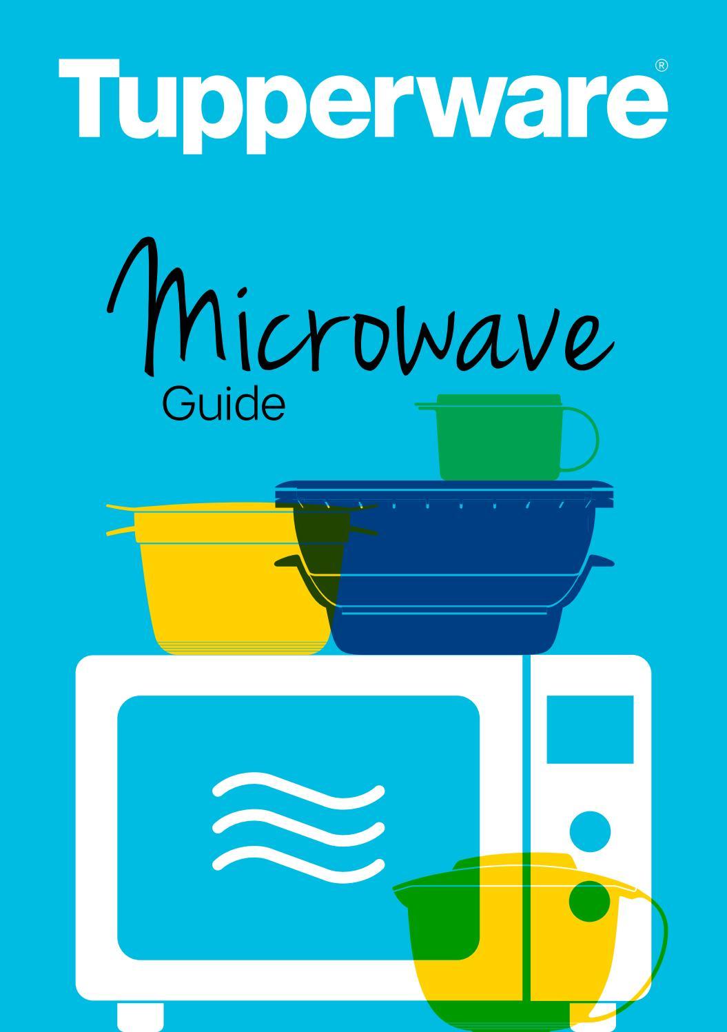 tupperware microwave guide by geri