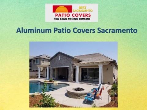 aluminum patio covers sacramento by new