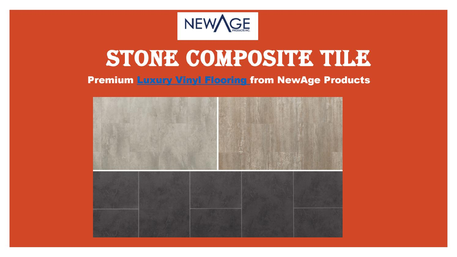 stone composite tile flooring by