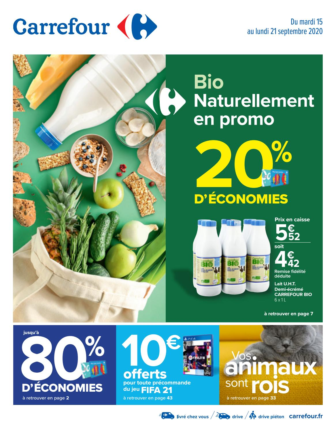 Carrefour France Catalogue Bio Naturellement En Promo By Hmbe Catalogue Network Issuu