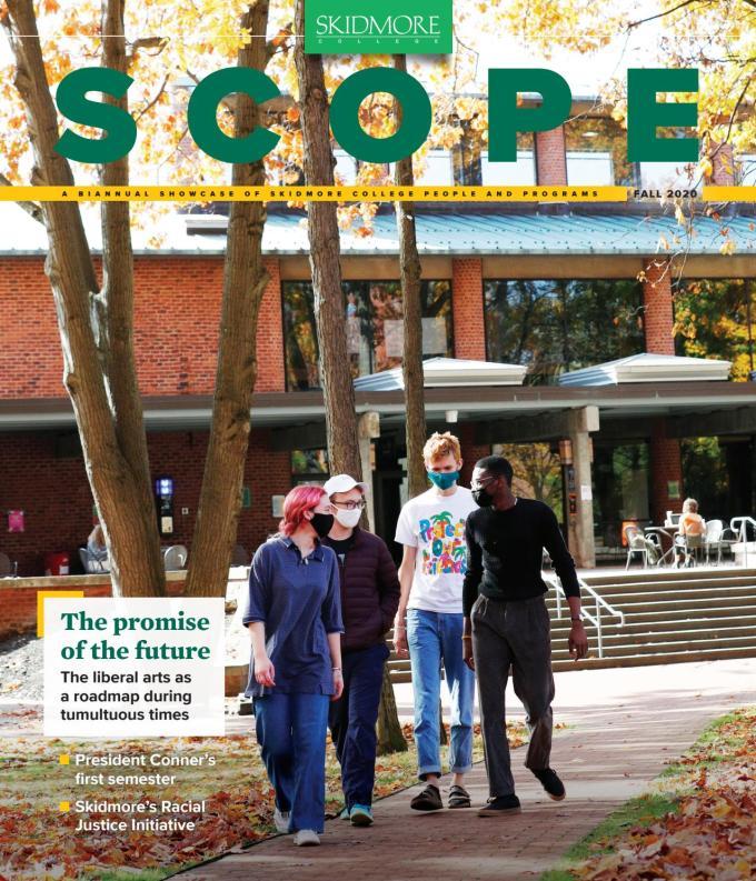 Scope Magazine Fall 2020 By Skidmore College Issuu