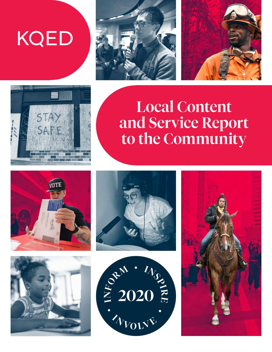 Californians can learn to survive wildfire in a warming world. Kqed Local Content And Service Report 2020 By Kqed Issuu