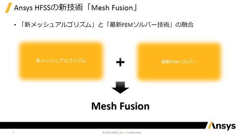 新たなメッシュアルゴリズムと最新のFEMソルバーの融合によって実現した「Ansys HFSS Mesh Fusion」