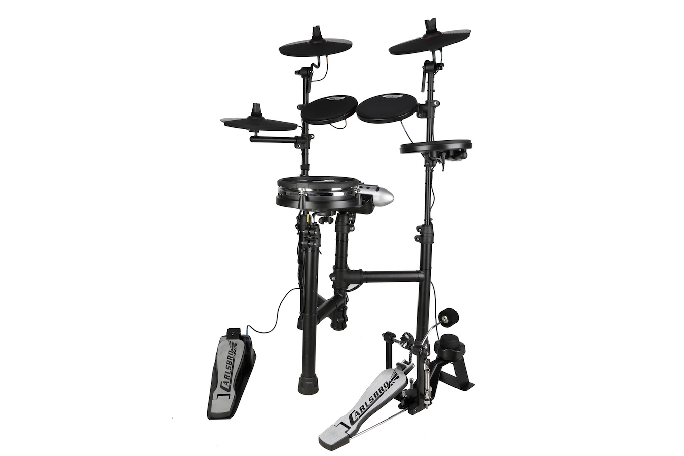 Carlsbro Csd130m Compact Electric Drum Kit W Mesh Snare