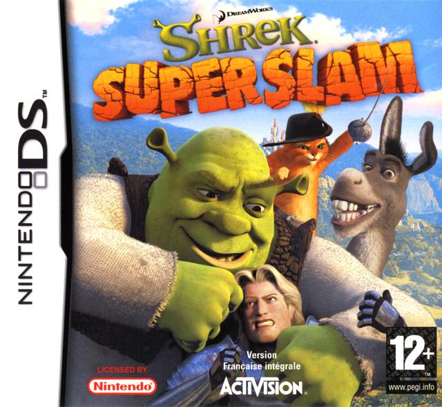 Shrek SuperSlam Sur Nintendo DS