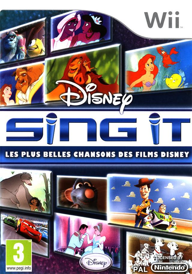 Disney Sing It Les Plus Belles Chansons Des Films Disney Sur Wii