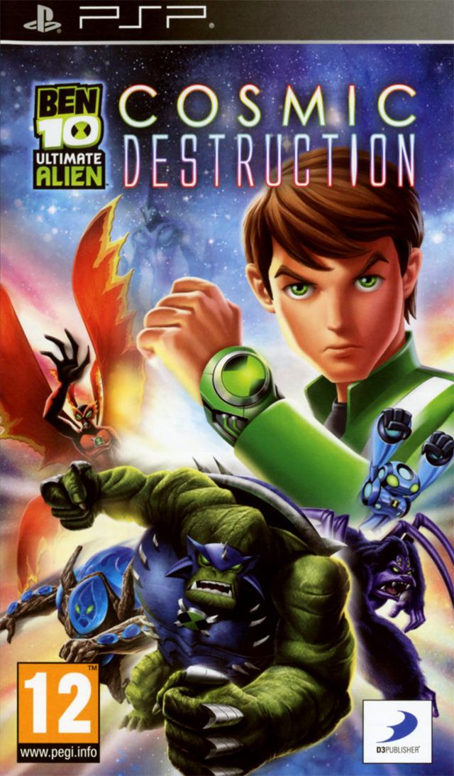 Ben 10 Ultimate Alien Cosmic Destruction Sur PlayStation