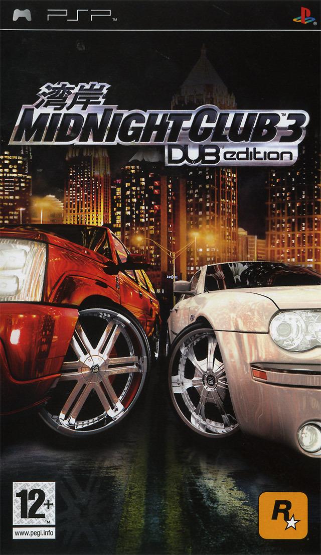 Midnight Club 3 Dub Edition Sur PlayStation Portable