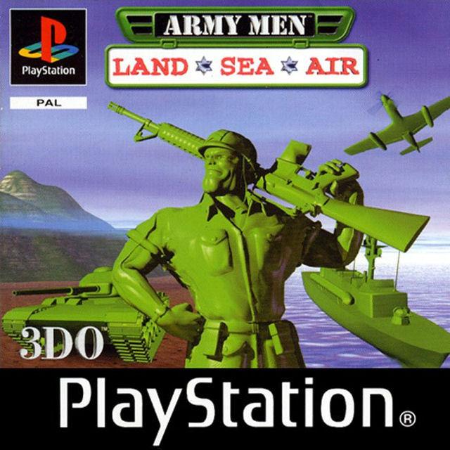 Army Men Land Sea Air Sur PlayStation