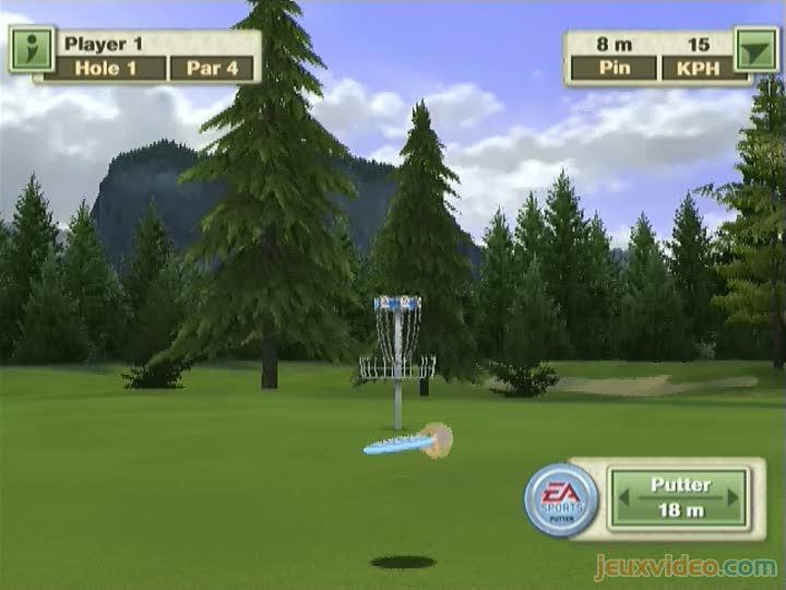 Gameplay Tiger Woods PGA Tour 10 Disc Golf